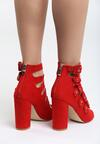 Czerwone Sandały Little Curtsy
