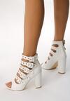 Białe Sandały Little Curtsy