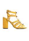 Żółte Sandały Almost There