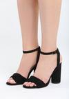 Czarne Sandały Optimistic