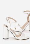 Białe Sandały Optimistic
