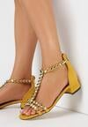 Żółte Sandały Shrewdness