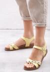 Żółte Sandały Ramble On