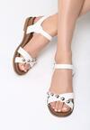 Białe Sandały Ramble On