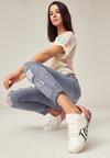 Biało-Różowe Buty Sportowe Girls Go Bad
