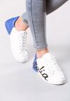 Biało-Niebieskie Buty Sportowe Girls Go Bad