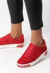 Czerwone Buty Sportowe Capricorn