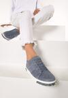 Niebieskie Buty Sportowe Capricorn