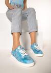 Niebieskie Buty Sportowe Dutch Girl