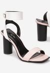 Różowo-Białe Sandały Stay Young