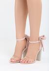 Różowe Sandały Star Light