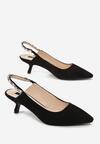 Czarne Sandały Fetch Away