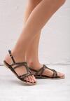 Czarne Sandały Nettle