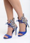 Niebieskie Sandały Lovely Kiss