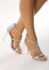 Srebrne Sandały Training