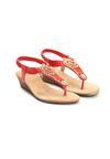 Czerwone Sandały Something Familiar