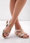 Białe Sandały Nosegay