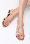 Różowe Sandały Nosegay