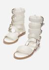 Białe Sandały Healing