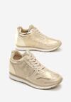 Złote Sneakersy Burn It Down