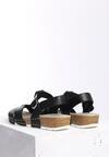 Czarne Sandały Indian Summer