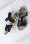 Granatowe Sandały Indian Summer