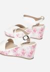 Biało-Różowe Sandały Part Of Me