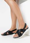 Czarne Sandały Walk Off