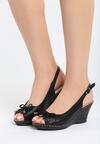 Czarne Sandały One Life