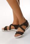 Czarne Sandały Migration