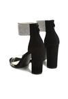 Czarne Sandały Snobbish