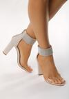 Beżowe Sandały Snobbish