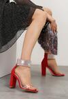 Czerwone Sandały Snobbish