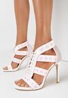 Białe Sandały Ladies First