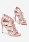 Różowe Sandały Ladies First