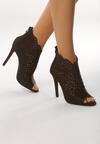 Czarne Sandały La Bella