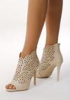 Beżowe Sandały La Bella