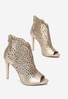 Złote Sandały La Bella