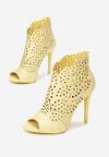Żółte Sandały La Bella