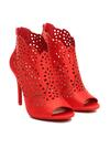 Czerwone Sandały La Bella