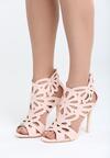 Różowe Sandały Saturday Vogue
