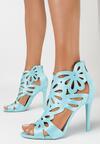Niebieskie Sandały Saturday Vogue