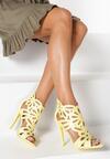 Żółte Sandały Saturday Vogue