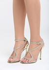 Złote Sandały Amaretto