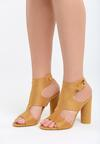 Żółte Sandały You Are Everythiing