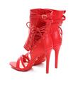 Czerwone Sandały Little Lights