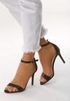Czarne Sandały Let Her Know