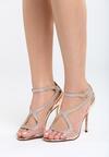 Szampańskie Sandały Amaretto