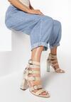 Beżowe Sandały What About Us