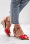 Czerwone Sandały We're Going